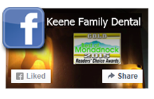 Keene Family Dental Facebook icon